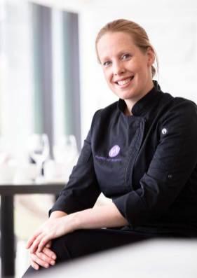 Dessert designer Marike van Beurden