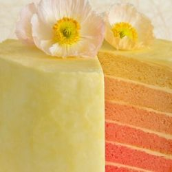 Pink Ombre Layer Cake Recipe