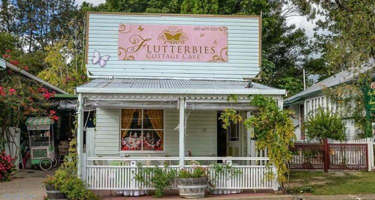 Flutterbies Cottage Cafe, Tyalgum NSW