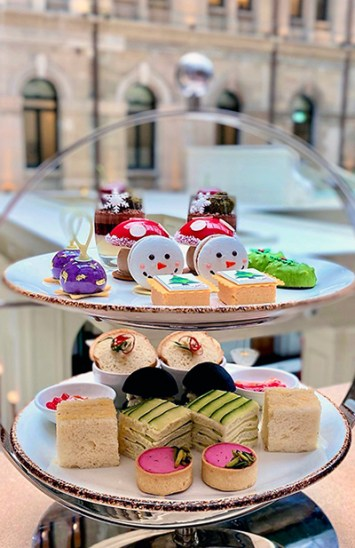 Festive Afternoon Tea at The Fullerton Hotel Sydney