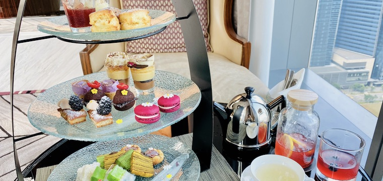 High Tea at the Lobby Lounge, The Westin Singapore