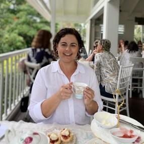 Sally Scott at Teavine House