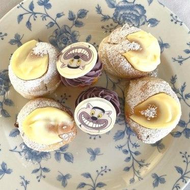 Cheshire mini cupcakes