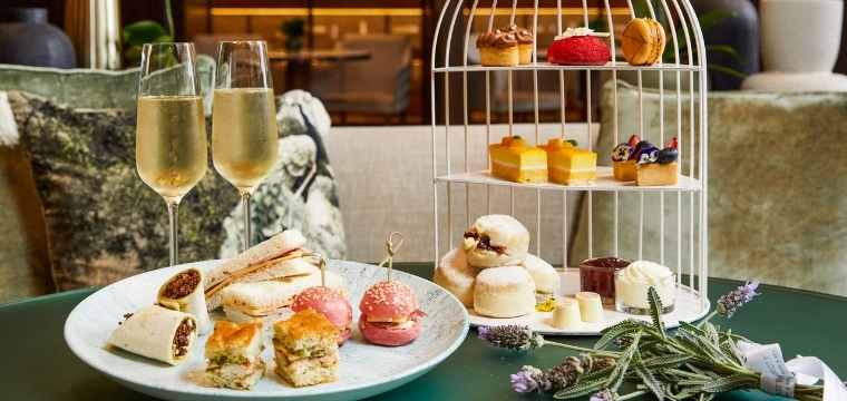 High Tea at Chapter & Verse, JW Marriott Gold Coast Resort & Spa