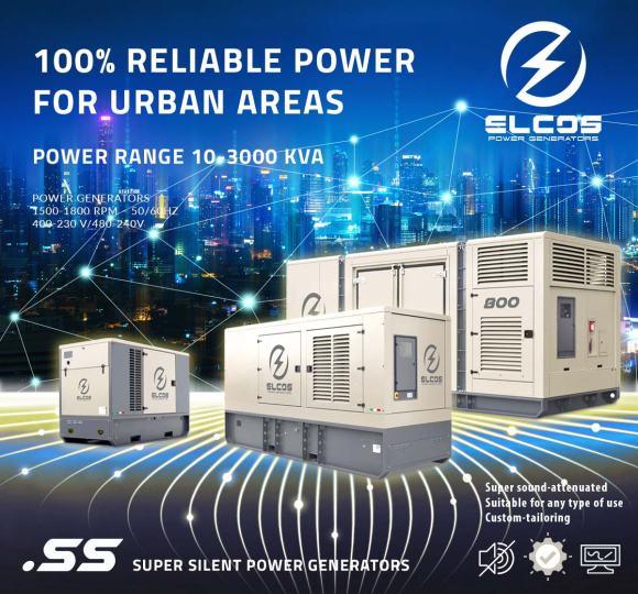 ELCOS Super Silent Generators