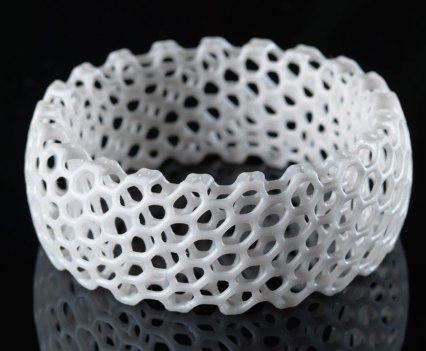 Bracelet NERVOUS SYSTEM. Com impressora 3D Form 1, da Formlabs