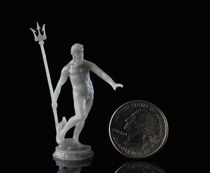 Neptune Black. Com impressora 3D Form 1, da Formlabs