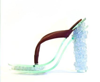 Sapatos! Glass Shoe by Iva Minkova