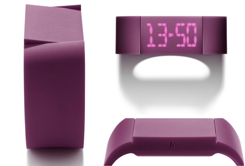 Relógio digital Mutewatch