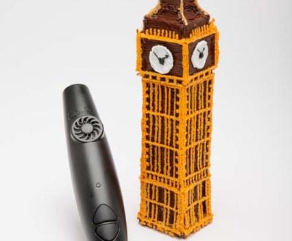 Big Ben com 3Doodler, da WobbleWorks, a caneta 3D