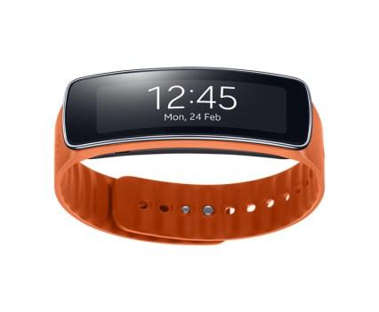 Pulseira de Fitness Gear Fit, da Samsung