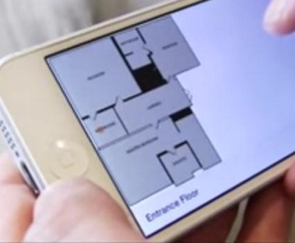 RoomScan app, da Locometric. Para desenhar qualquer planta baixa.
