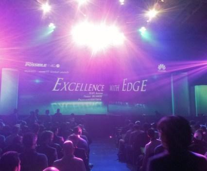 Lançamento global do Ascend P7, da Huawei