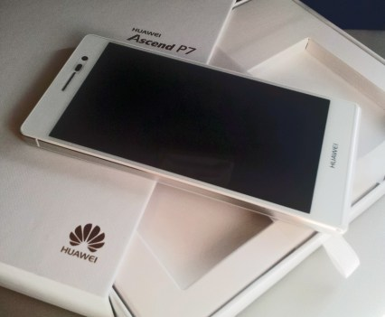 Ascend P7, da Huawei