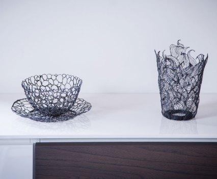 Peças criadas com Lix, caneta 3D