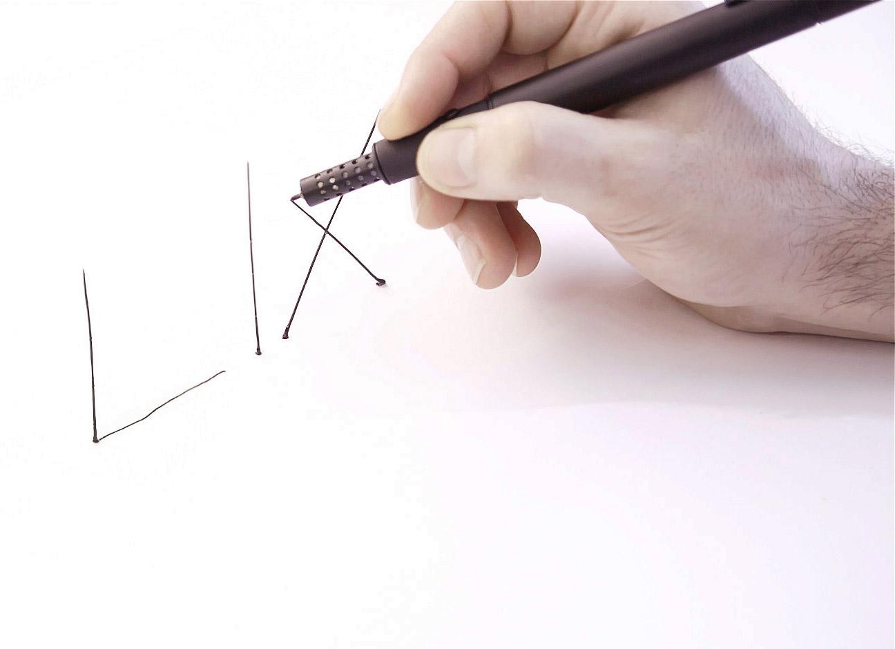 Lix, caneta 3D