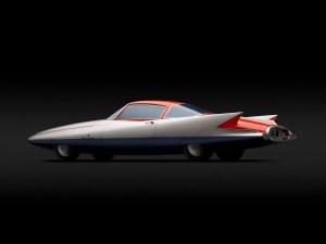 """Carros de sonho. 1955, Chrysler (Ghia) Streamline X """"Gilda"""""""