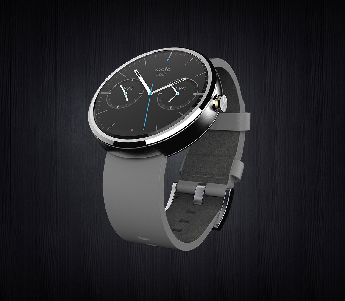 Moto 360, o smartwatch da Motorola