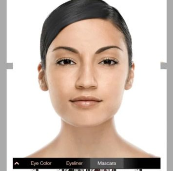 App de beleza. Mary Kay Mobile Virtual Makeover