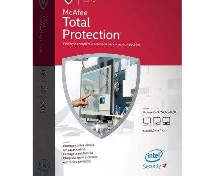 Segurança na Internet. McAfee Total Protection 2015
