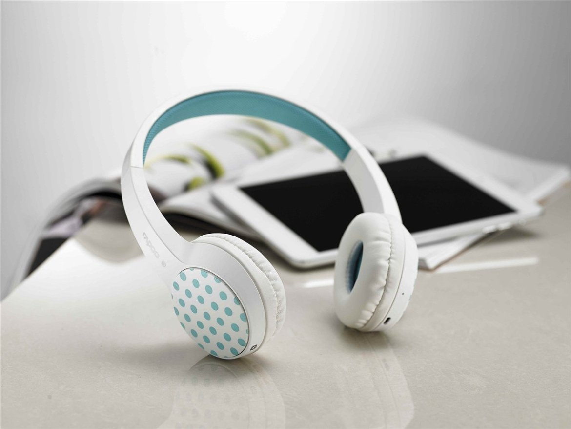 Passatempo Headset Bluetooth Rapoo