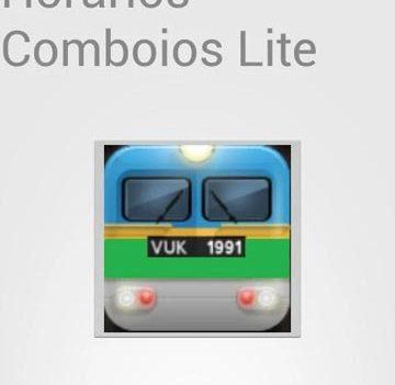 Apps de emergência. Horários de comboios