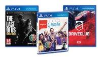 Ideias de Natal... Just for teens! Jogos Last of Us, SingStar Nova Geração e DriveClub