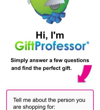 Apps para o Natal. Gift professor