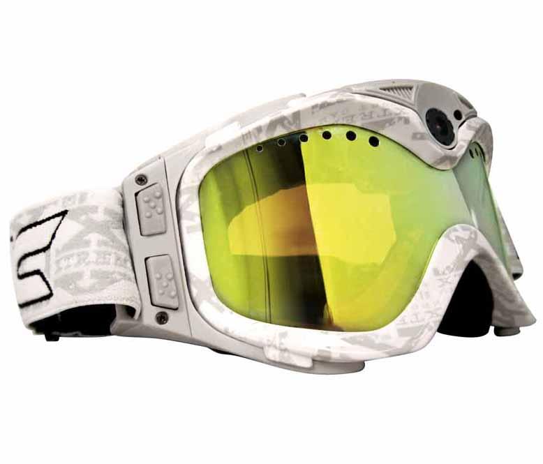 Óculos para a neve com câmara de vídeo integrada Liquid Image All-Sport