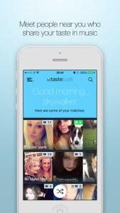 Apps para encontrar um grande amor. Tastebuds