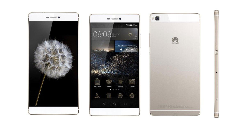 P8, o novo topo de gama da Huawei (na cor champanhe)