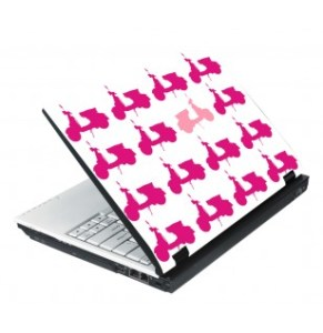 Personalizar computador portátil. Skin Vespas, da Hom3