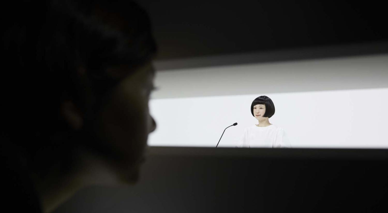 Robôs no museu - Kodomoroid
