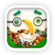 Apps educativas e divertidas para crianças. Faces iMake app