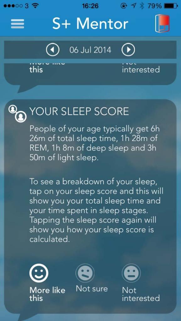 S+, da ResMes. Para dormir o sono dos justos