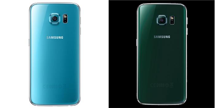 As novas cores dos Galaxy S6