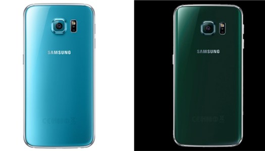 As novas cores do Galaxy S6