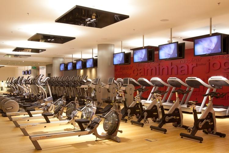 Fitness e tecnologia. Virgin Active Lisboa