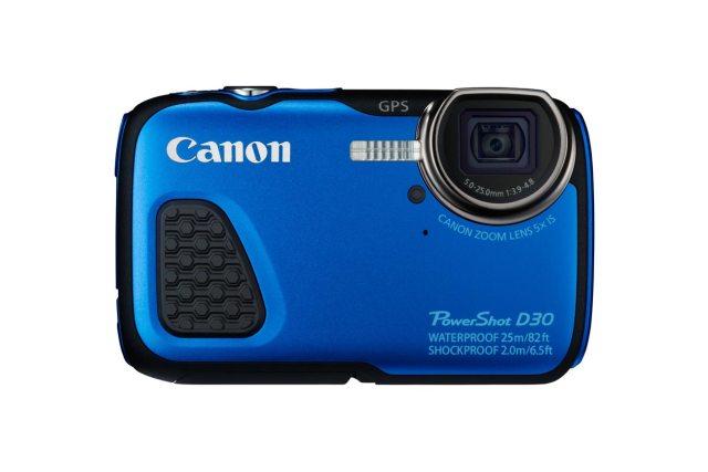 Gadgets à prova d'água. PowerShot D30, da Canon