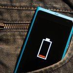 Não fique sem bateria!