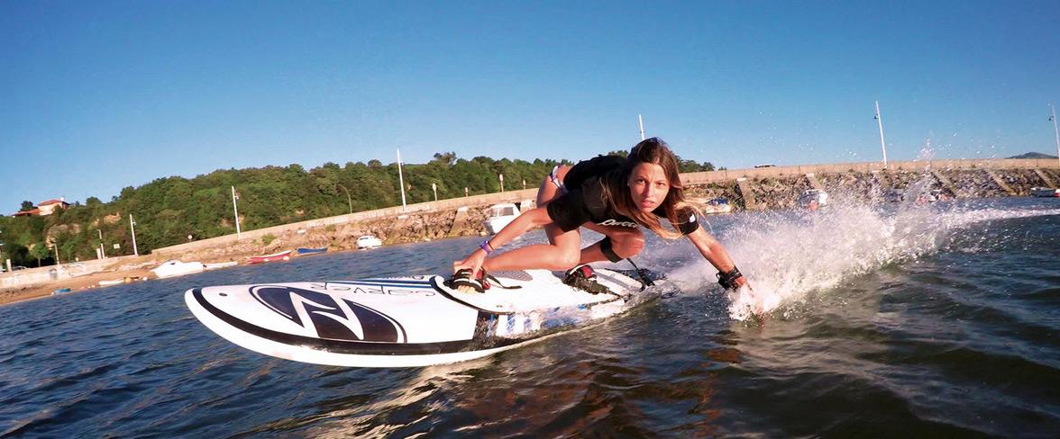 Pracha de surf motorizada, da Onean