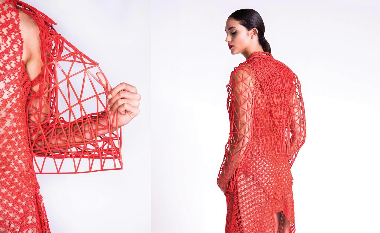 Moda e impressão 3D. Produtos da designer israelita Danit Poleg