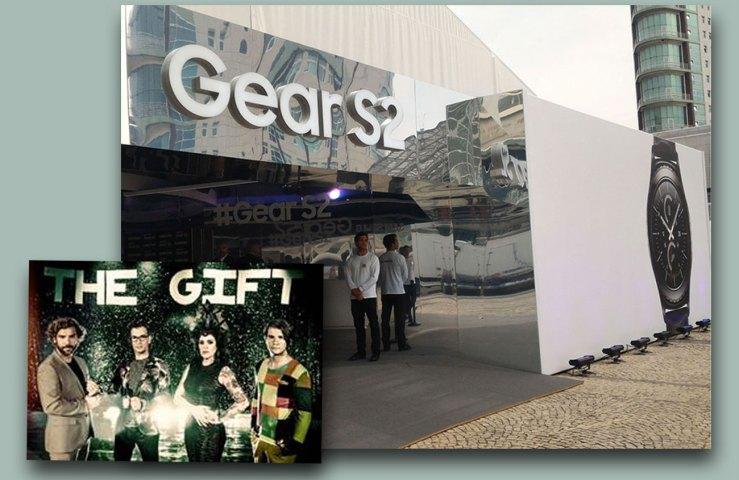 The Gift no Studio Gear S2, em Lisboa