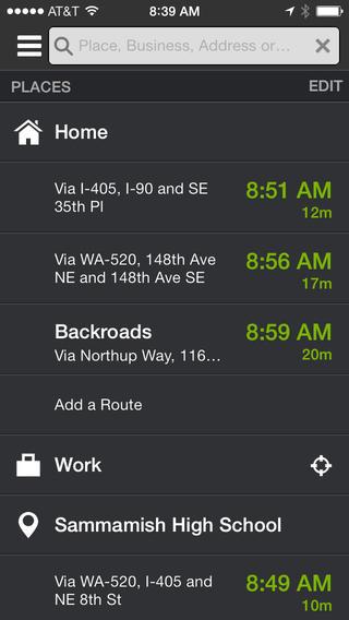 Apps para dizer adeus ao trânsito. INRIX