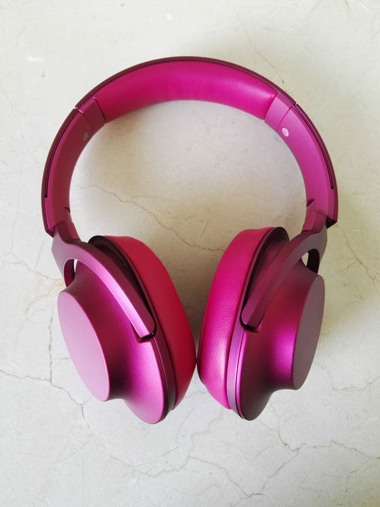 Headphones h.ear on MDR-100AAP. Linha Hear Your Colours, da Sony