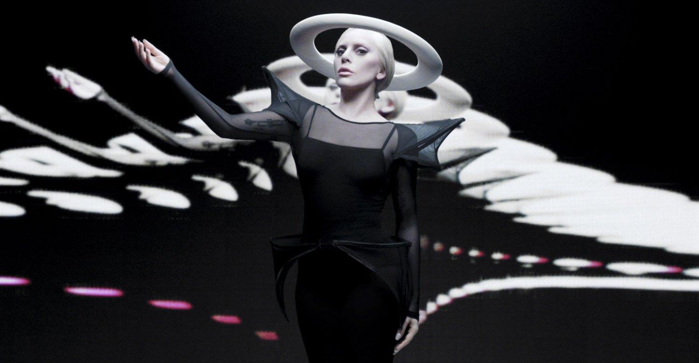 Lady Gaga na noite dos Grammy Awards