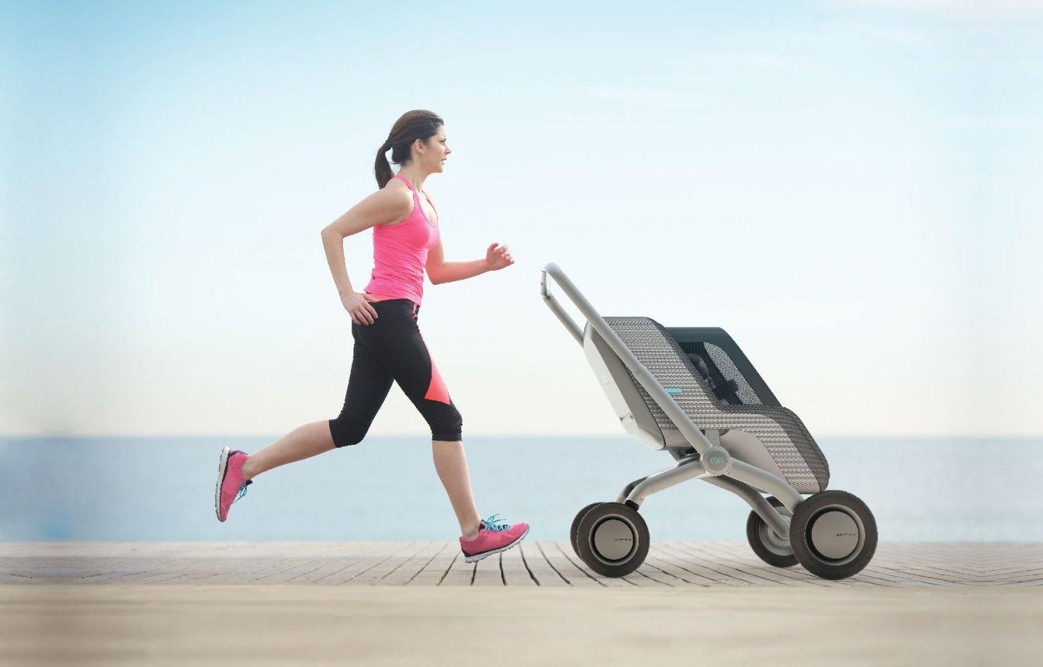 SmartBe, um carrinho de bebé superinteligente