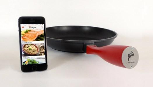 Uma frigideira inteligente para cozinhar melhor