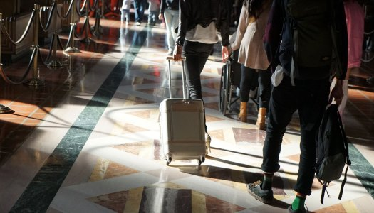 Uma mala de viagem inteligente