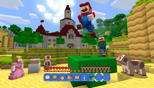 Super Mario vai partir blocos em Minecraft